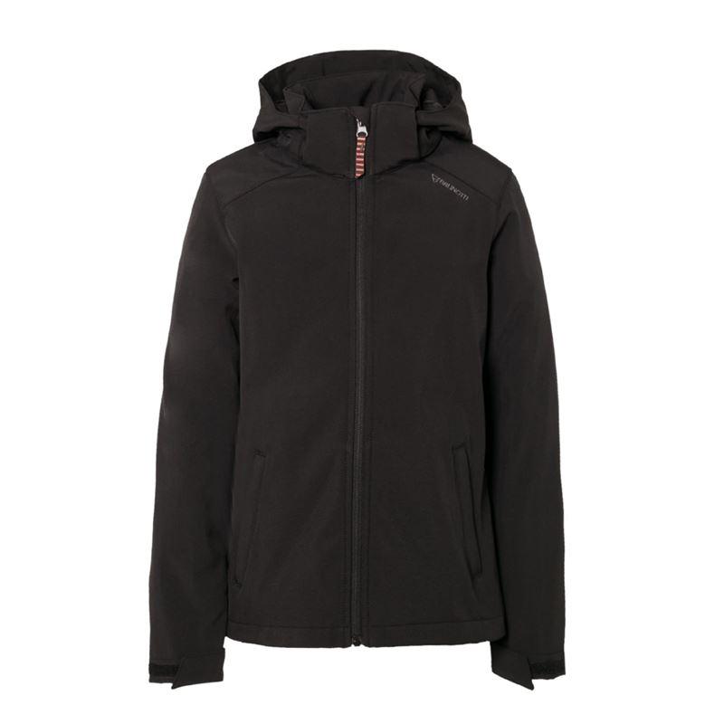 Brunotti Josky JR Girls Softshell Jacket (Zwart) - MEISJES JASSEN - Brunotti online shop