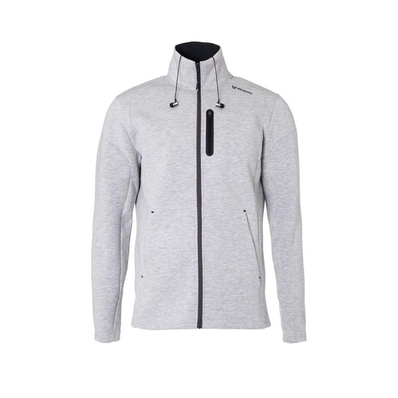 Brunotti Victory  (grijs) - heren fleeces - Brunotti online shop