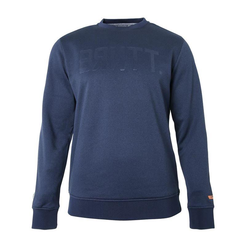 Brunotti Glade  (blauw) - heren truien & vesten - Brunotti online shop