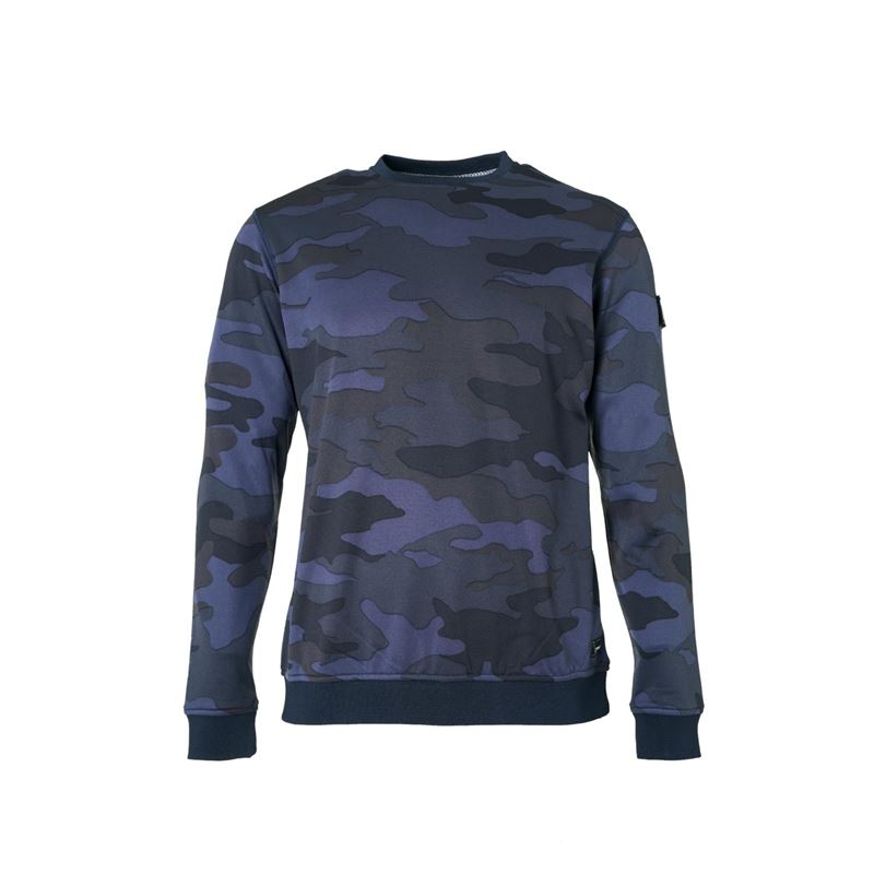 Brunotti Harrison  (blauw) - heren fleeces - Brunotti online shop