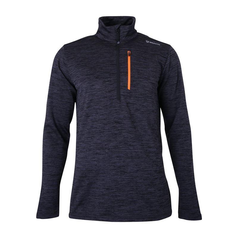 Brunotti Meru  (grijs) - heren fleeces - Brunotti online shop