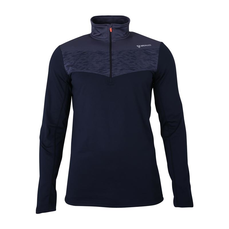 Brunotti Bennu  (zwart) - heren fleeces - Brunotti online shop