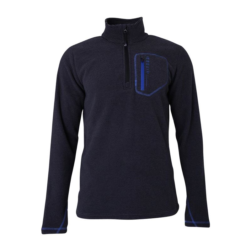 Brunotti Aldrin  (grijs) - heren fleeces - Brunotti online shop