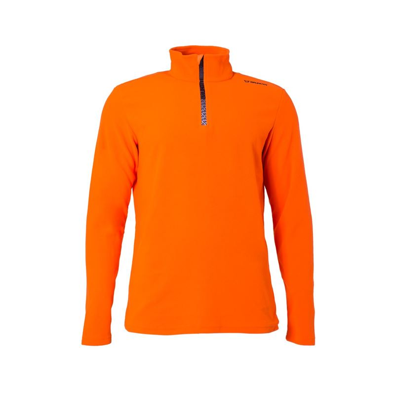 Brunotti Tenno  (oranje) - heren fleeces - Brunotti online shop