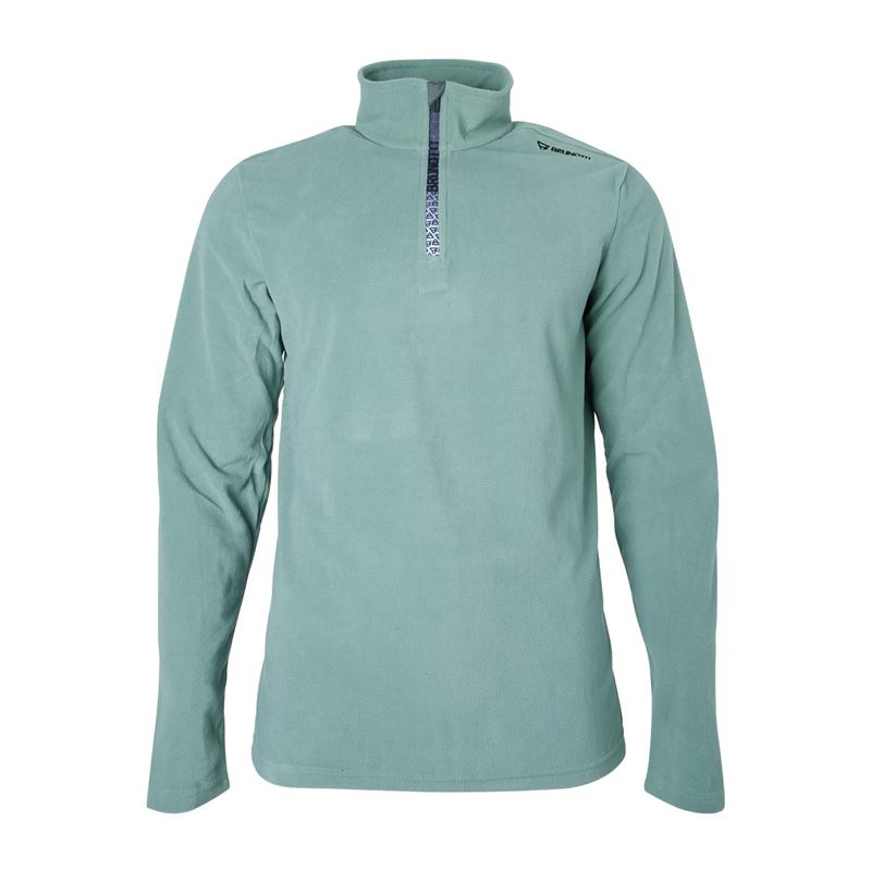 Brunotti Tenno  (groen) - heren fleeces - Brunotti online shop