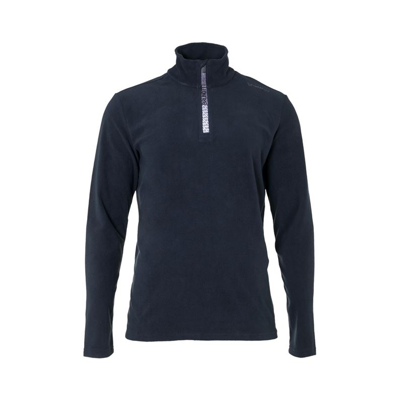 Brunotti Tenno  (zwart) - heren fleeces - Brunotti online shop
