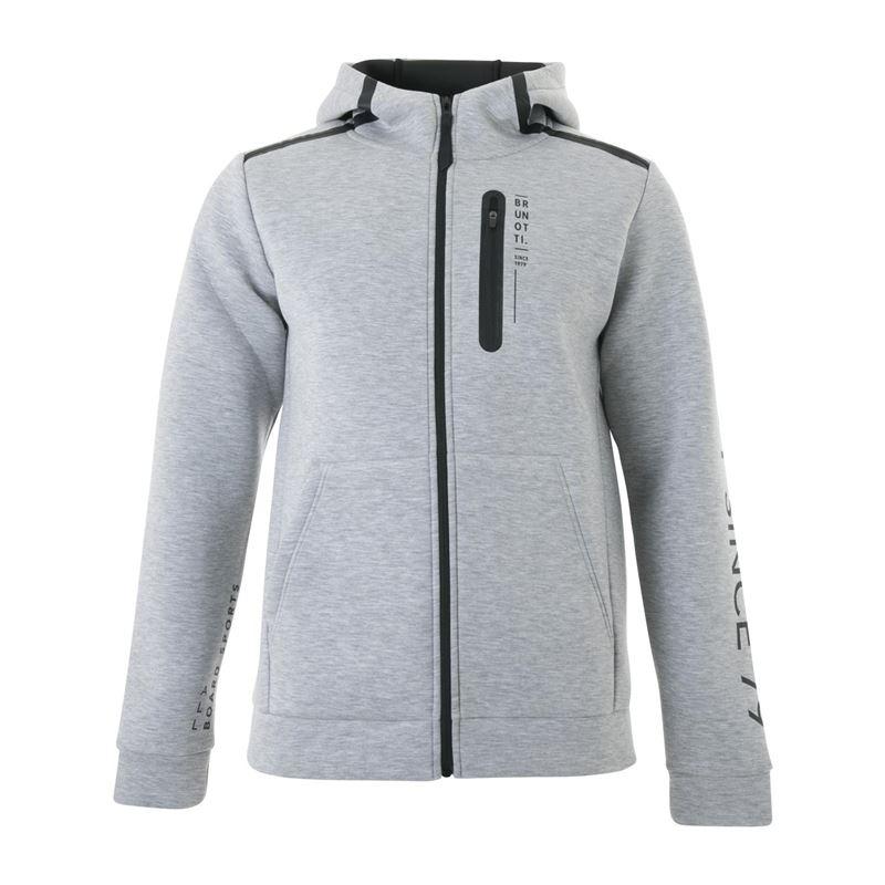Brunotti Timbly  (grau) - herren sweatshirts & sweatjacken - Brunotti online shop