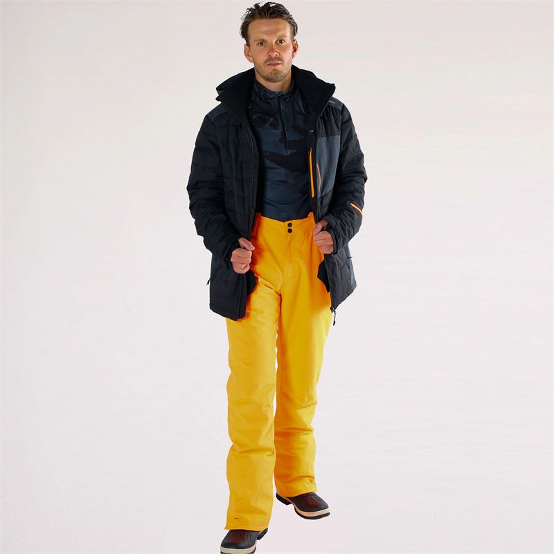Brunotti Footstrap-N  (orange) - men snow pants - Brunotti online shop