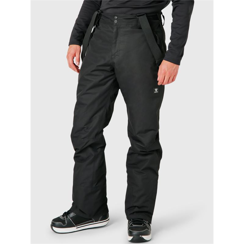 Brunotti Footstrap  (zwart) - heren skibroeken - Brunotti online shop
