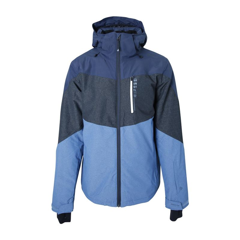 Brunotti Nitrogen  (blue) - men jackets - Brunotti online shop