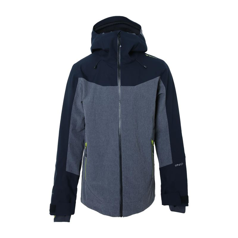 Brunotti Neil  (grey) - men snow jackets - Brunotti online shop