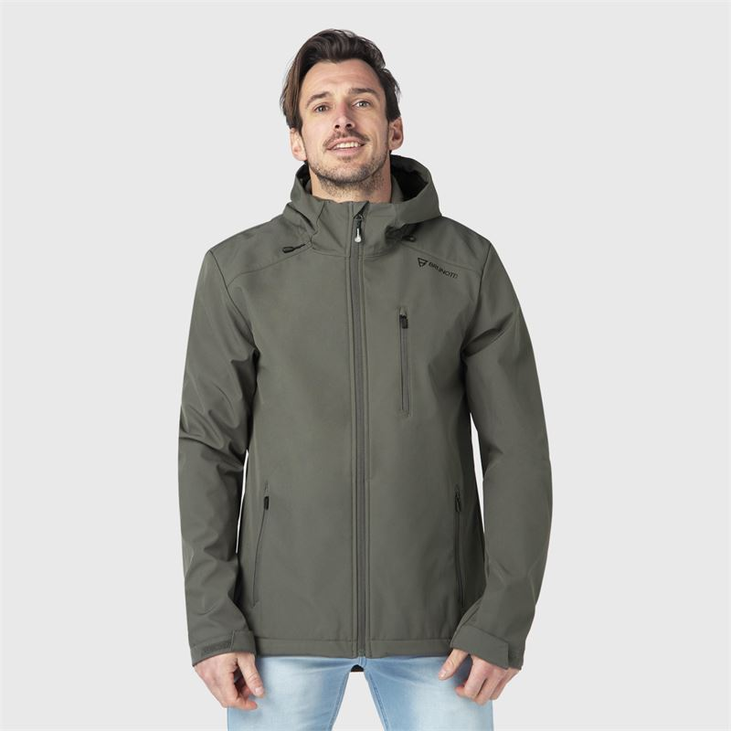 Brunotti Mib-N  (green) - men casual jackets - Brunotti online shop