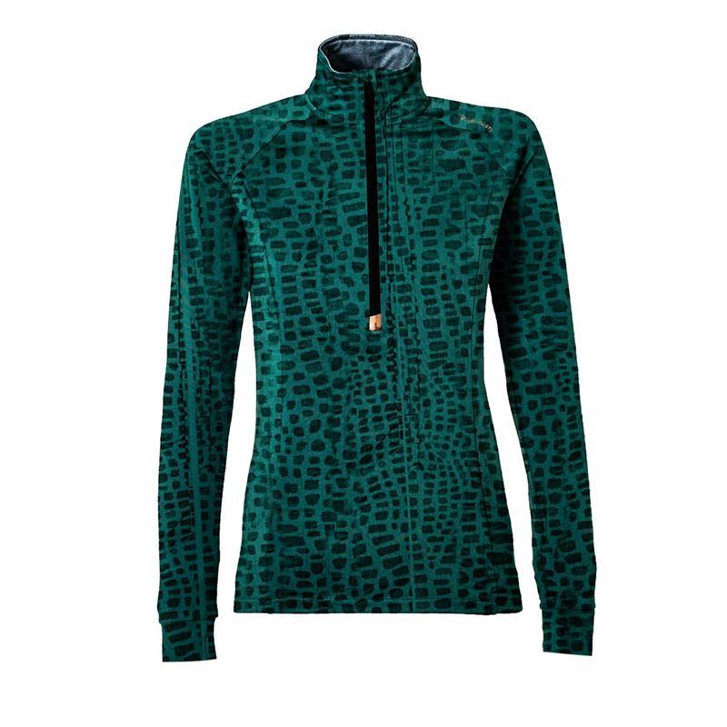 Brunotti Aquila  (groen) - dames fleeces - Brunotti online shop