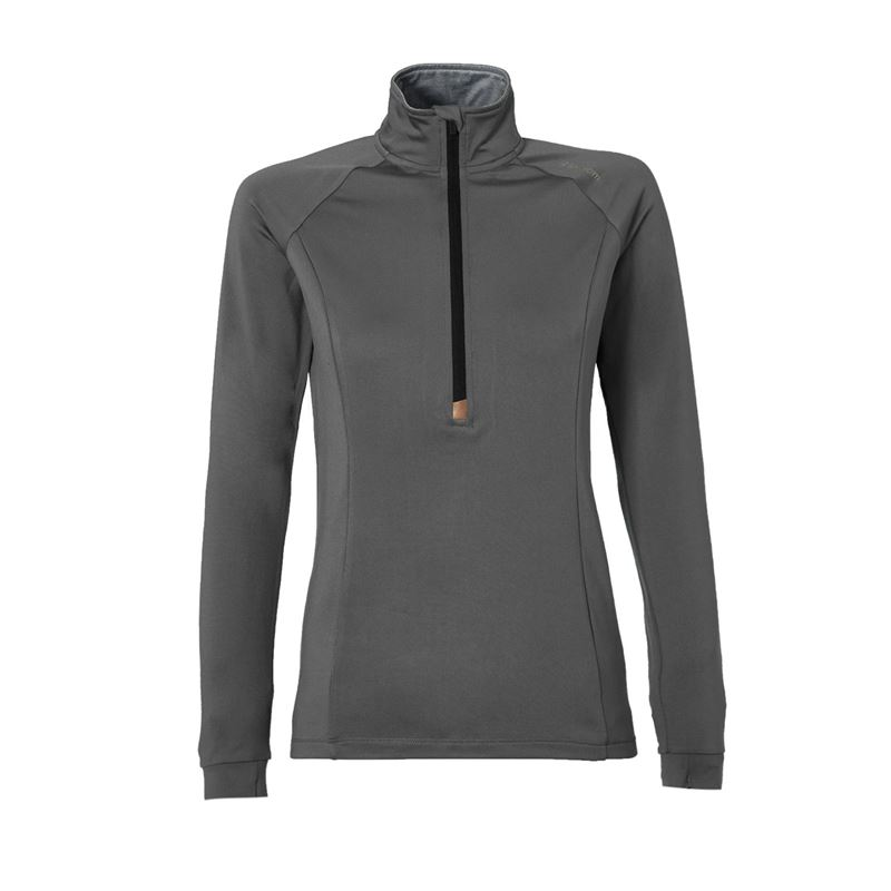 Brunotti Yrenna  (grijs) - dames fleeces - Brunotti online shop