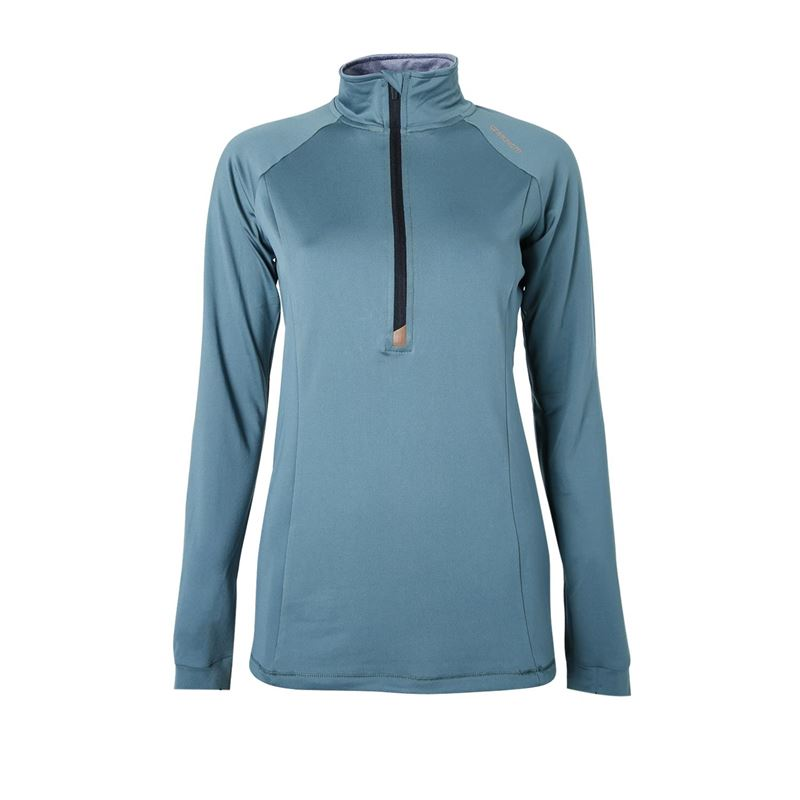 Brunotti Yrenna  (groen) - dames fleeces - Brunotti online shop