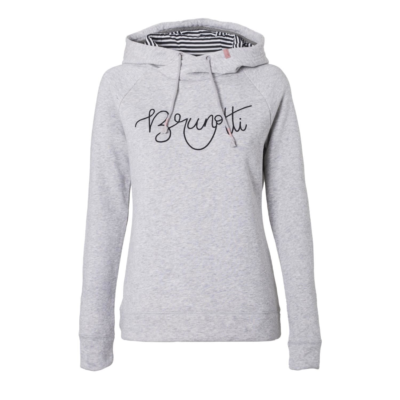 Sweat Trui Dames.Brunotti Gemini Grijs Dames Truien Vesten Brunotti Online Shop