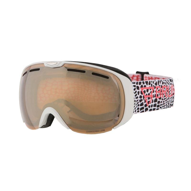 Brunotti Deluxe  (wit) - dames ski / snowboard brillen - Brunotti online shop