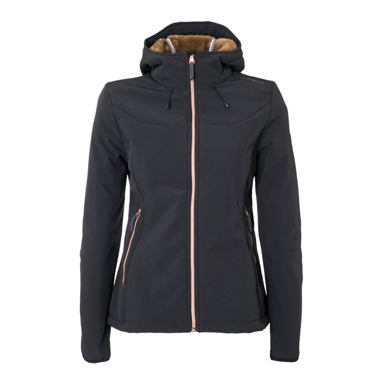 Brunotti Naos Women Softshell jacket (Grau) - DAMEN JACKEN - Brunotti online shop