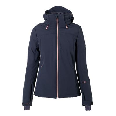 Brunotti Aries W1819 Women Softshell jacket. Beschikbaar in L,XL,XXL (1822124349-099)