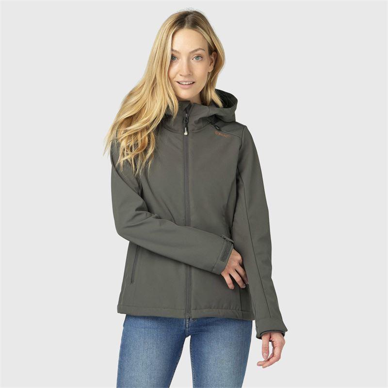 Brunotti Joos-N  (grijs groen) - dames casual jassen - Brunotti online shop