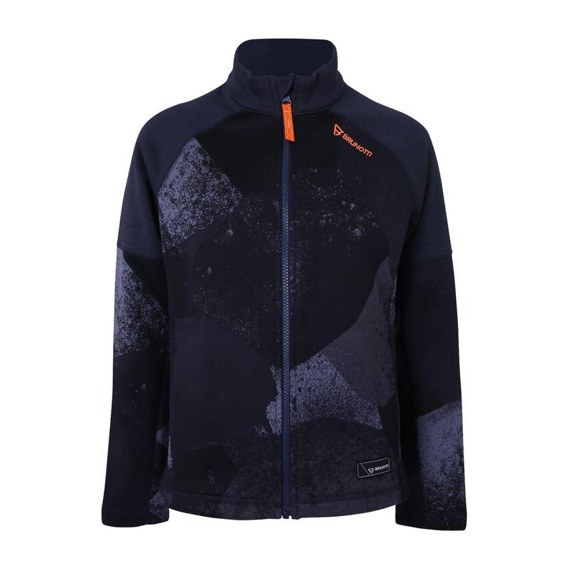 Brunotti Cane  (blauw) - jongens fleeces - Brunotti online shop