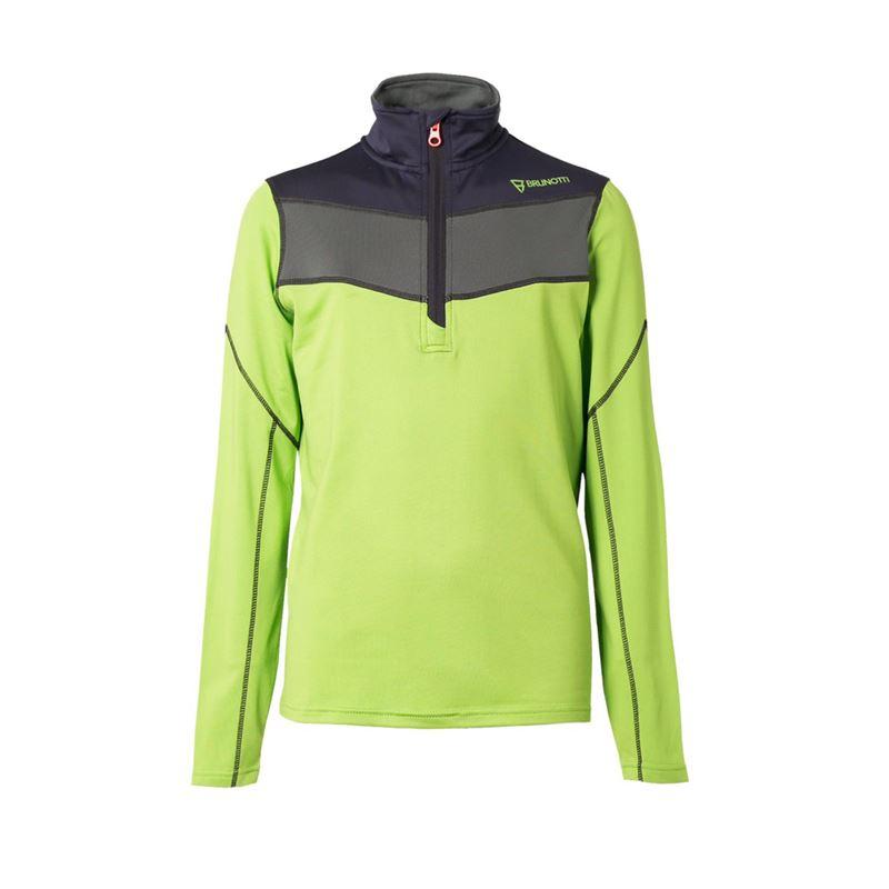 Brunotti Bennu  (green) - boys fleeces - Brunotti online shop