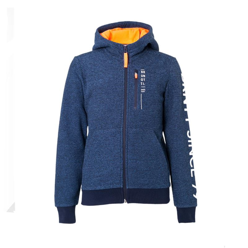 Brunotti Thimble  (blue) - boys fleeces - Brunotti online shop