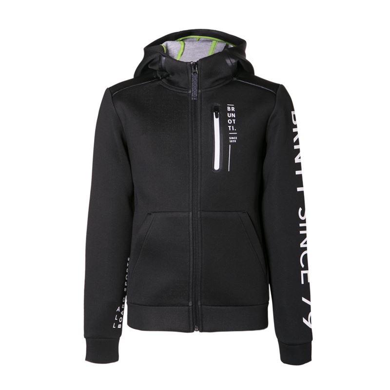 Brunotti Timbly  (zwart) - jongens truien & vesten - Brunotti online shop
