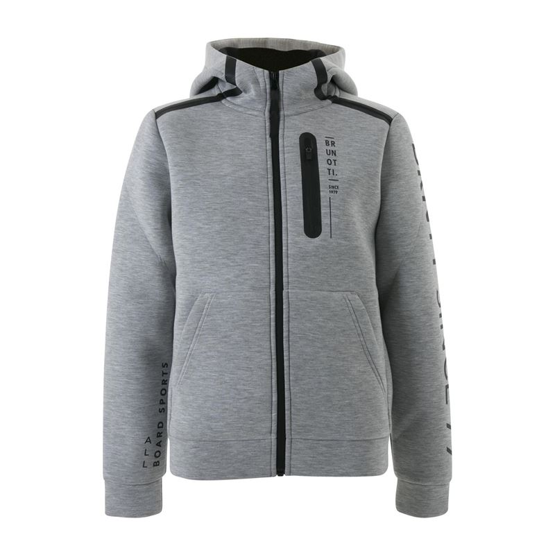 Brunotti Timbly  (grey) - boys sweats & cardigans - Brunotti online shop