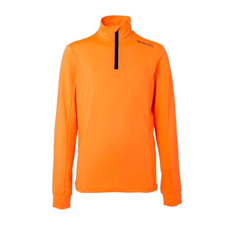 Brunotti Terni  (orange) - boys fleeces - Brunotti online shop