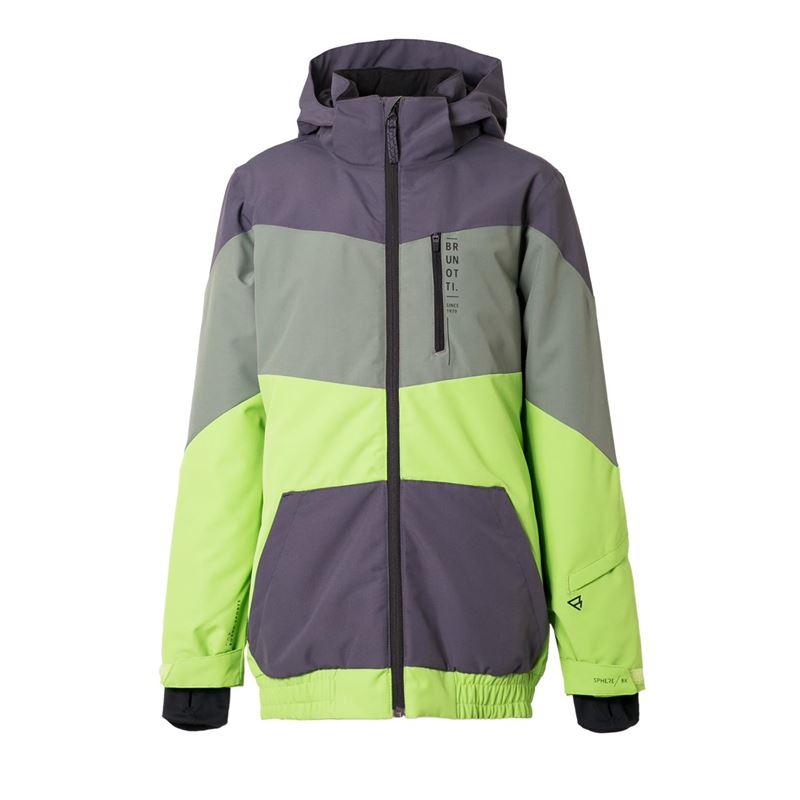 Brunotti Crater  (groen) - jongens casual jassen - Brunotti online shop