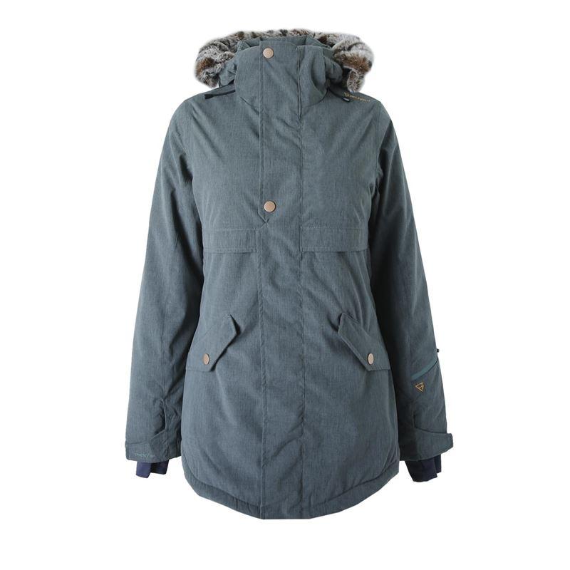 Brunotti Jupitera  (groen) - meisjes jassen - Brunotti online shop
