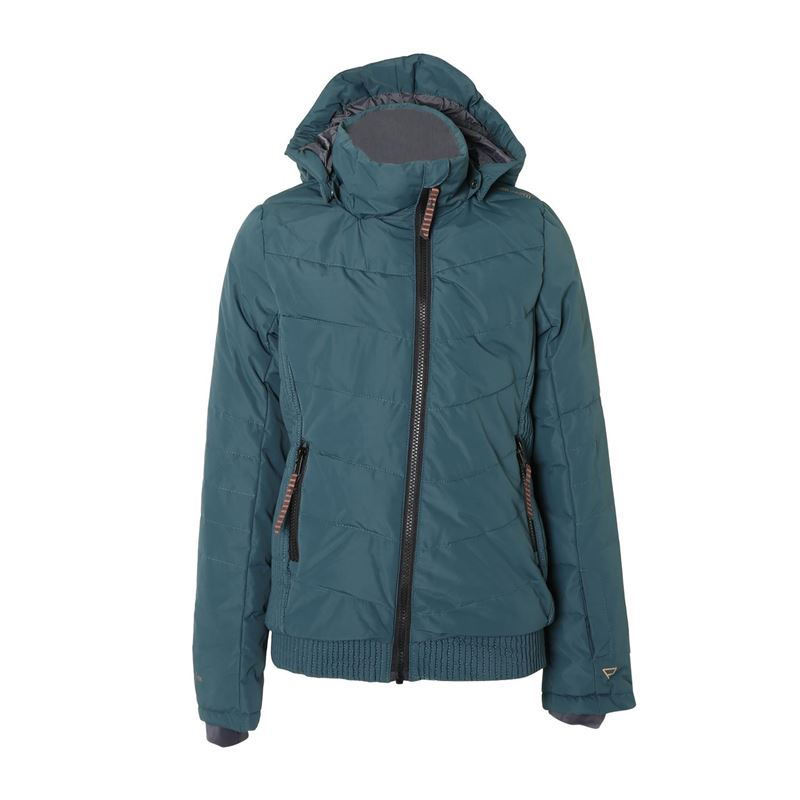 Brunotti Sega  (green) - girls jackets - Brunotti online shop