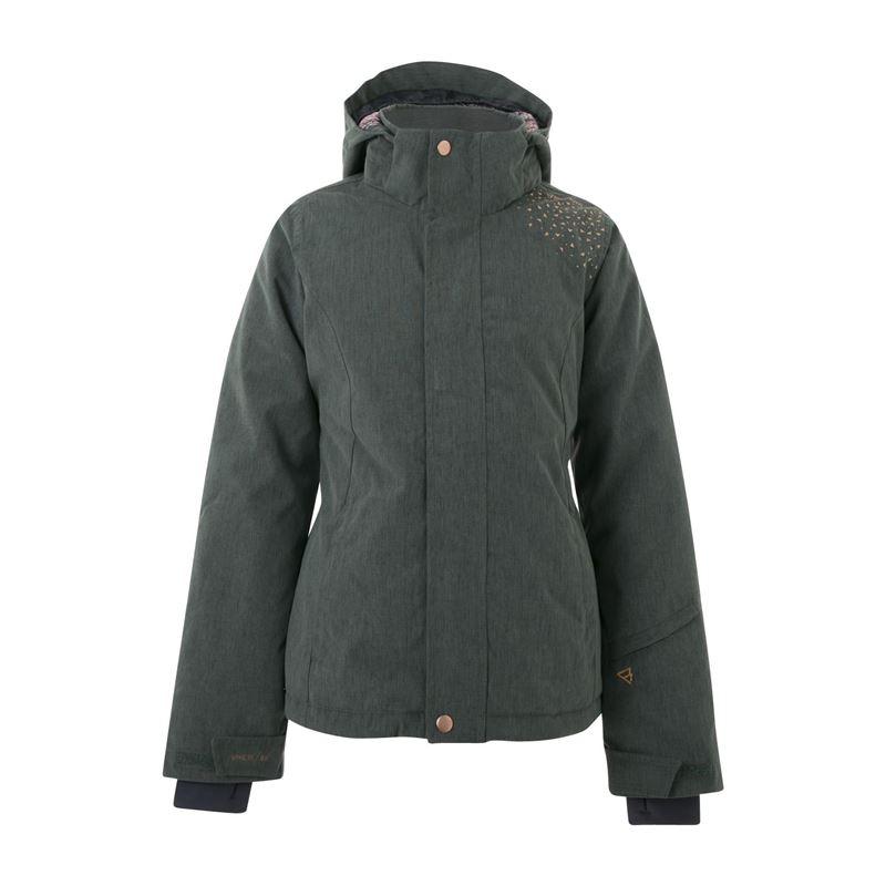 Brunotti Treysa  (groen) - meisjes jassen - Brunotti online shop
