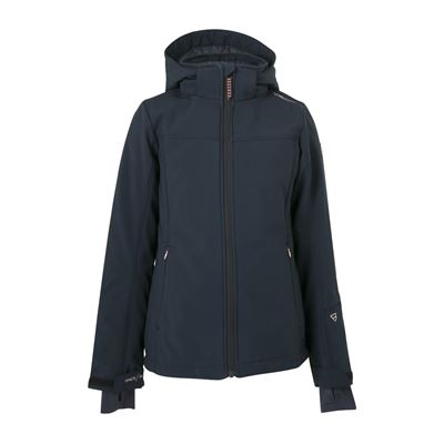 Brunotti Ariesta JR W1819 Girls Softshell Jacket. Beschikbaar in 116,140,152 (1824124725-099)
