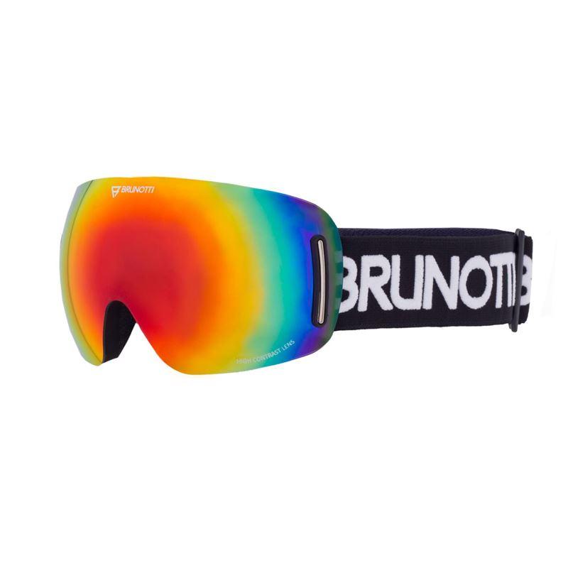 Brunotti Speed  (zwart) - heren ski / snowboard brillen - Brunotti online shop
