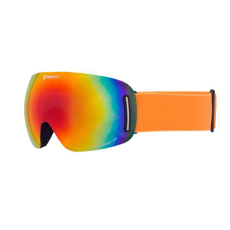 Brunotti Speed  (oranje) - heren ski / snowboard brillen - Brunotti online shop