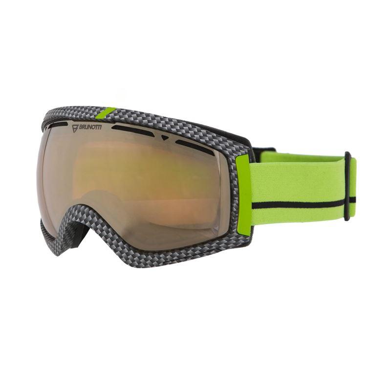 Brunotti Downhill  (groen) - heren ski / snowboard brillen - Brunotti online shop