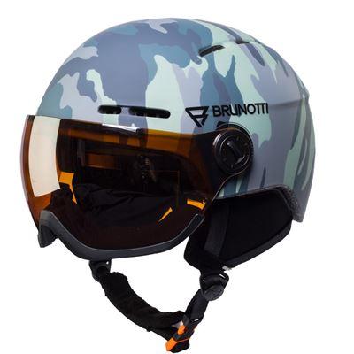 Brunotti Robotic AO 1 Unisex Helmet. Beschikbaar in 53/58,59/61 (1825081210-097)