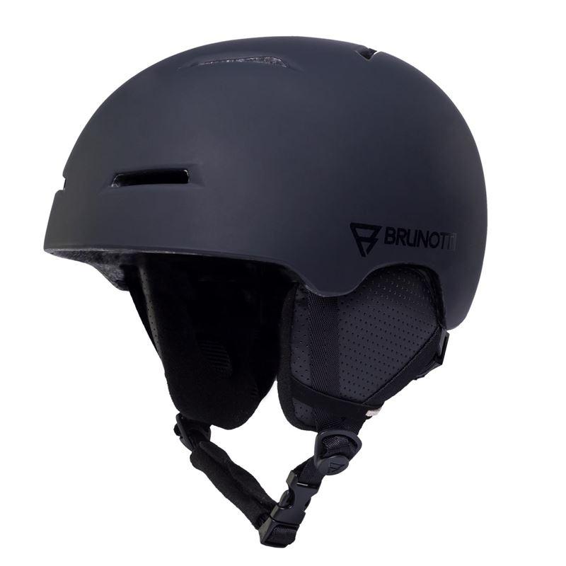 Brunotti Maddox  (zwart) - heren ski / snowboard helmen - Brunotti online shop