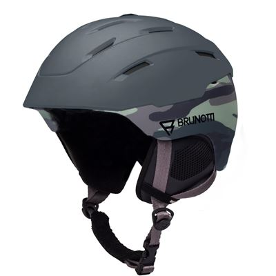 Brunotti Hybrid 1 Unisex Helmet. Beschikbaar in 53/58,58/62 (1825081250-0760)