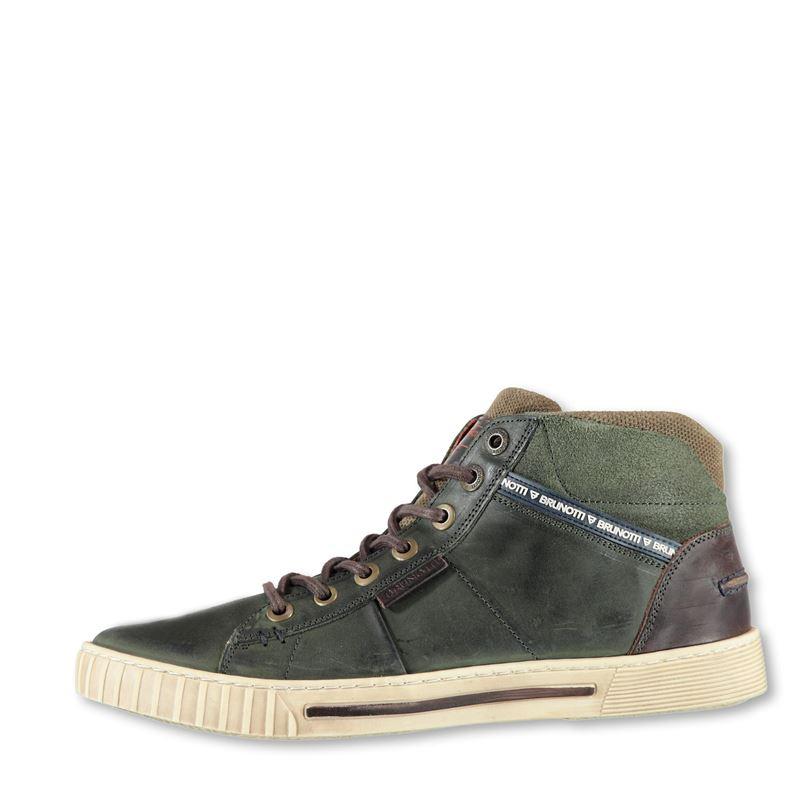Brunotti Baveno  (groen) - heren schoenen - Brunotti online shop