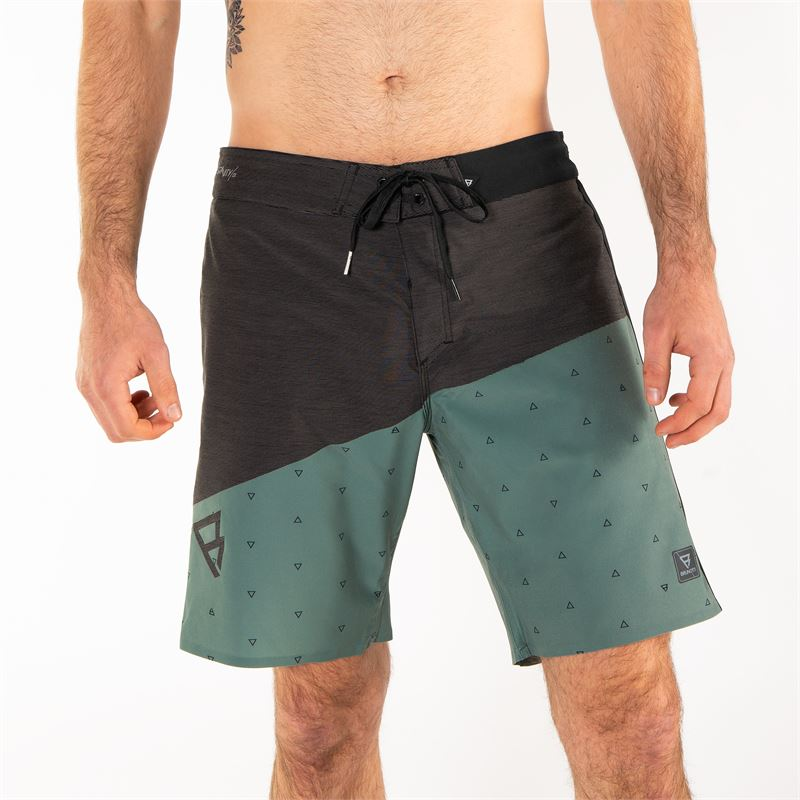Brunotti Pike  (groen) - heren boardshorts - Brunotti online shop