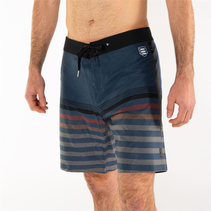 Brunotti Rocco  (blauw) - heren boardshorts - Brunotti online shop
