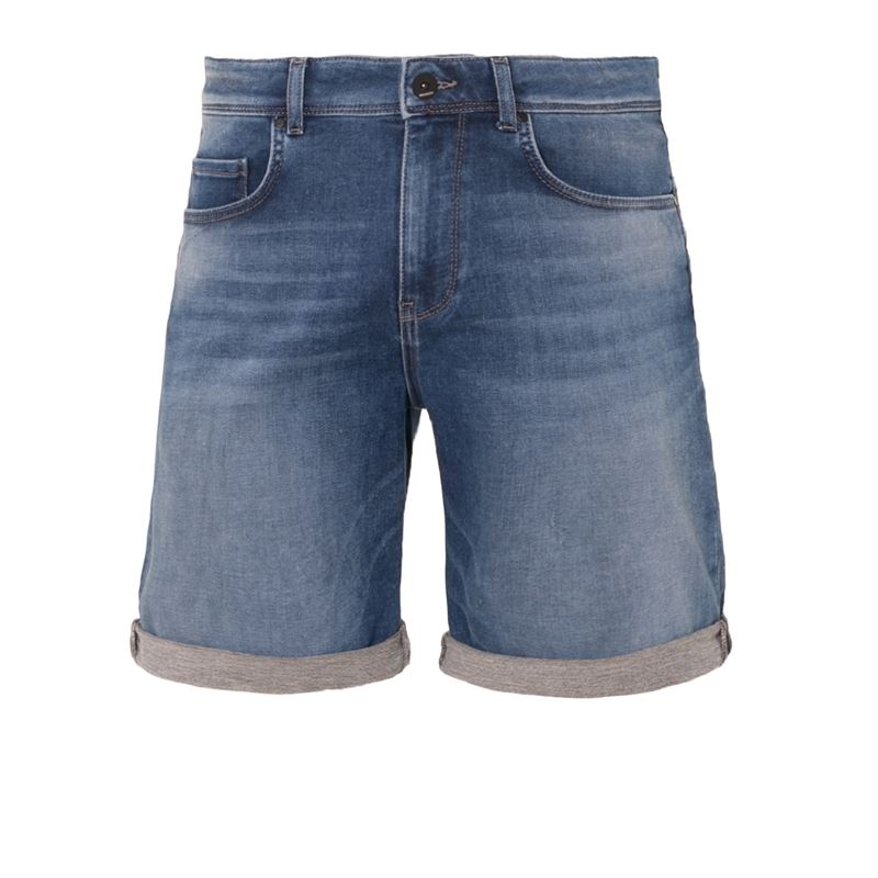 Brunotti Hangtime  (blauw) - heren casual shorts - Brunotti online shop