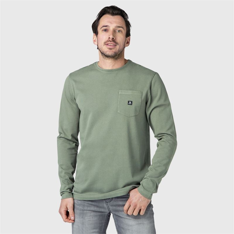 Brunotti Nichal  (green) - men t-shirts & polos - Brunotti online shop