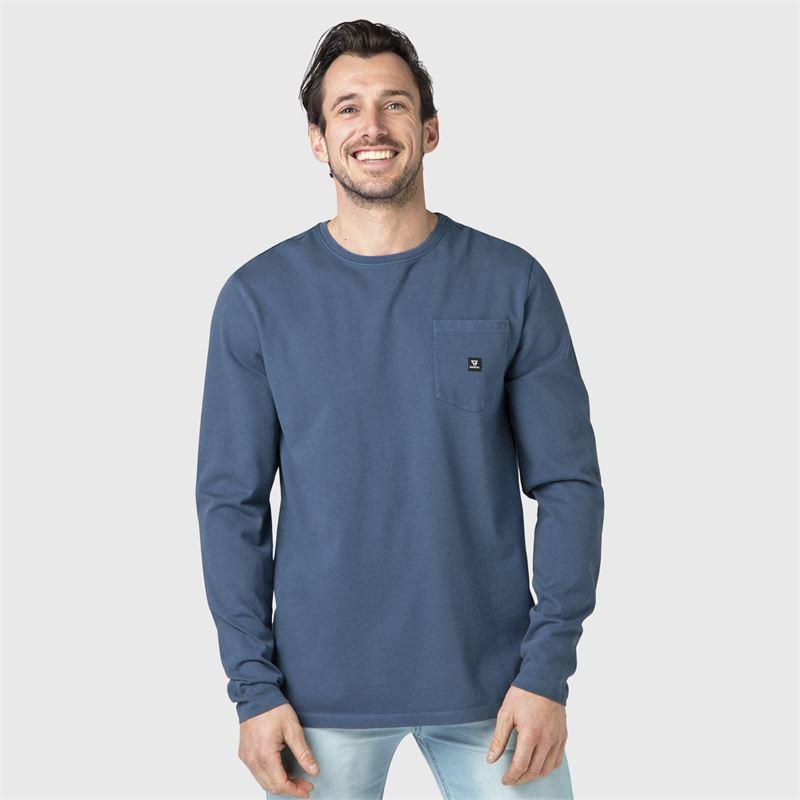 Brunotti Nichal  (blauw) - heren t-shirts & polo's - Brunotti online shop