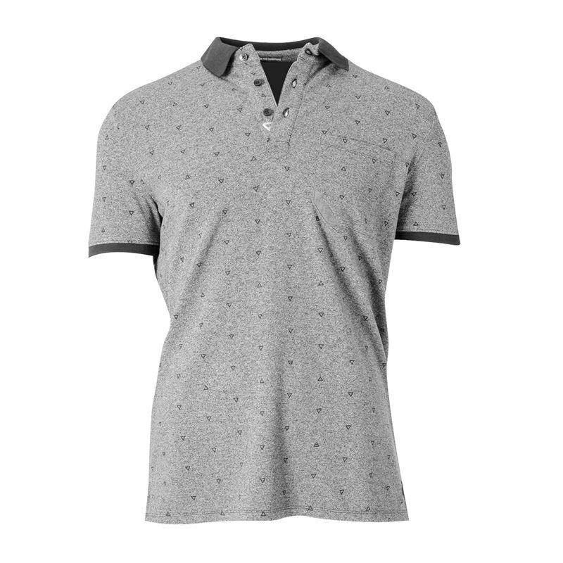 Brunotti Addax  (grijs) - heren t-shirts & polo's - Brunotti online shop