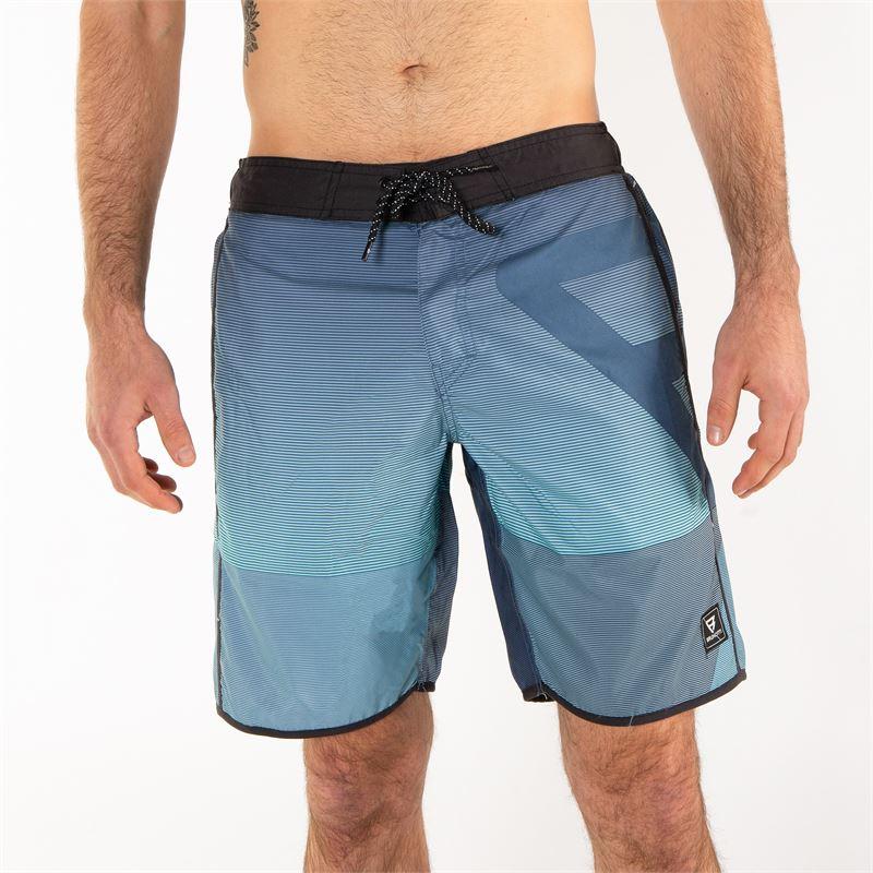 Brunotti Clyde  (blauw) - heren zwemshorts - Brunotti online shop