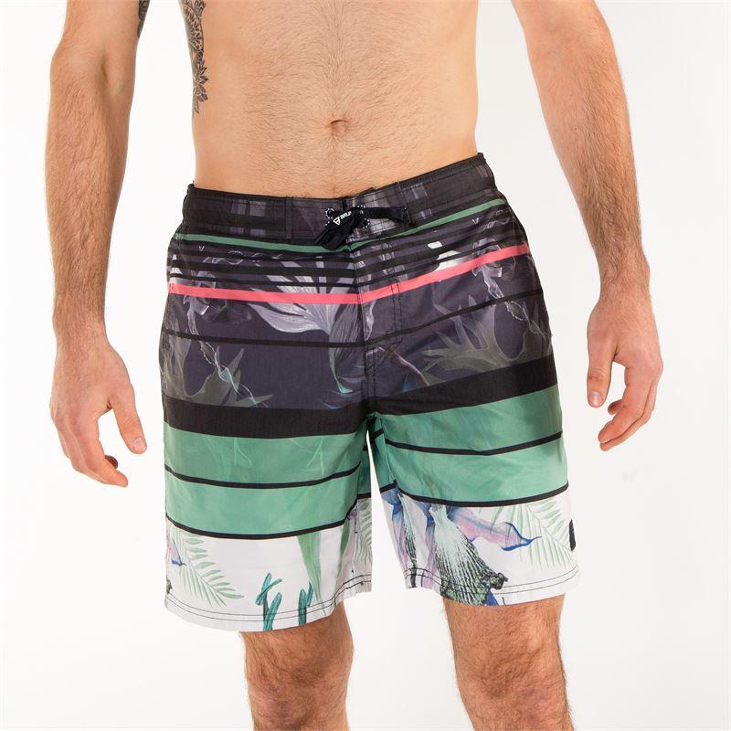 Brunotti Grayson  (groen) - heren zwemshorts - Brunotti online shop
